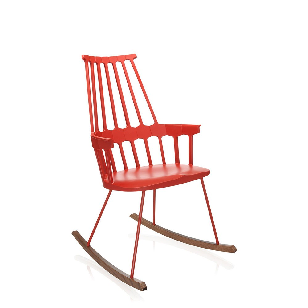 Kartell Chairs Comback Rocking Chair Design Republic