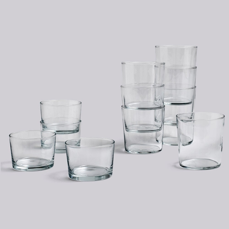 Glass / S - set 4