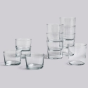 Glass / L - set 4