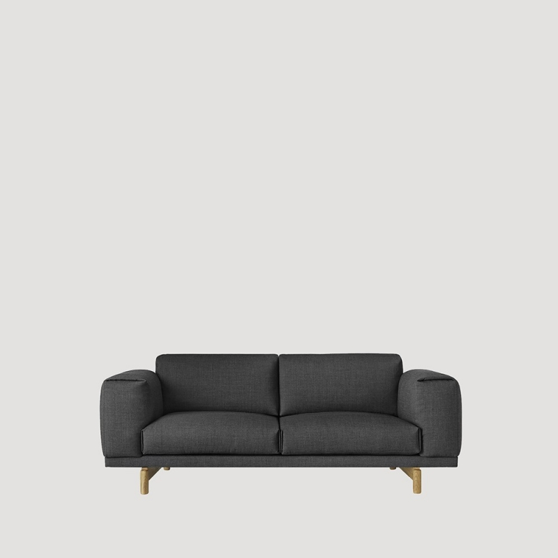 muuto sofas rest sofa 2 posti design republic. Black Bedroom Furniture Sets. Home Design Ideas