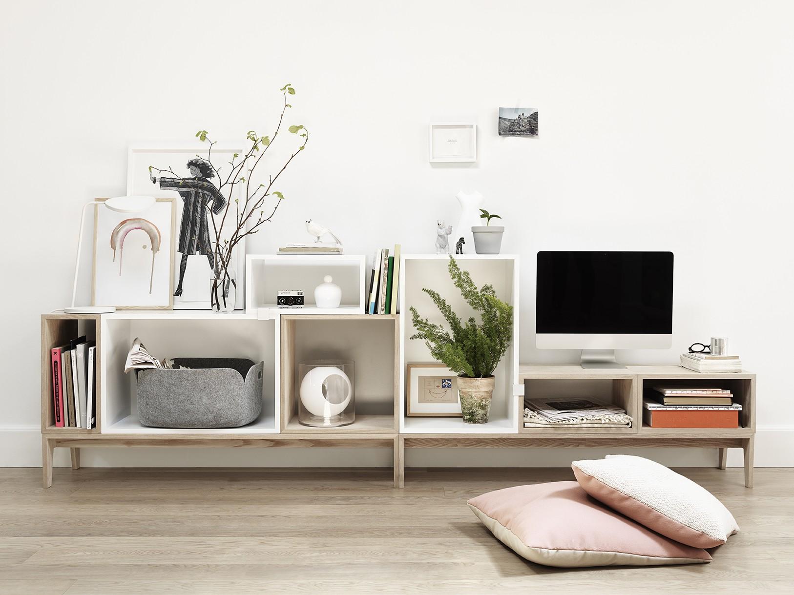Floor bookcases design republic