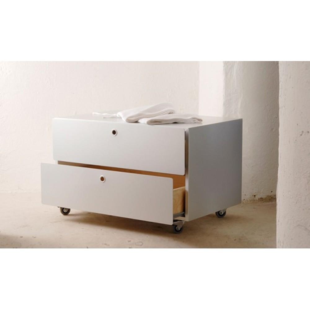 Cassettiera Da Ufficio Ikea.Kriptonite Complementi Da Ufficio Contenitore 75 5x45 2 Cassetti