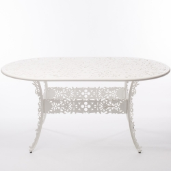 Industry Garden Oval Table