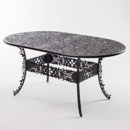 Industry Garden Oval Table
