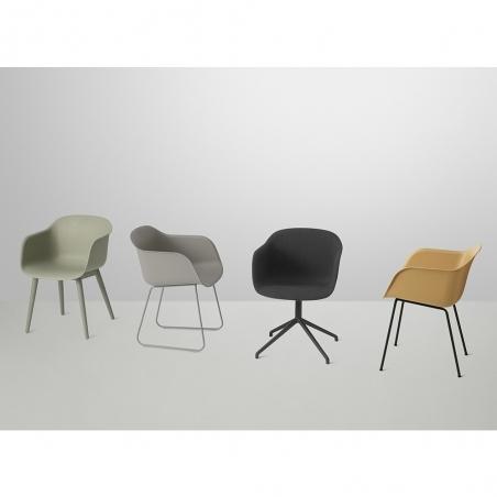 Fiber Armchair Textile Shell