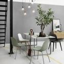 Fiber Chair Wood Base