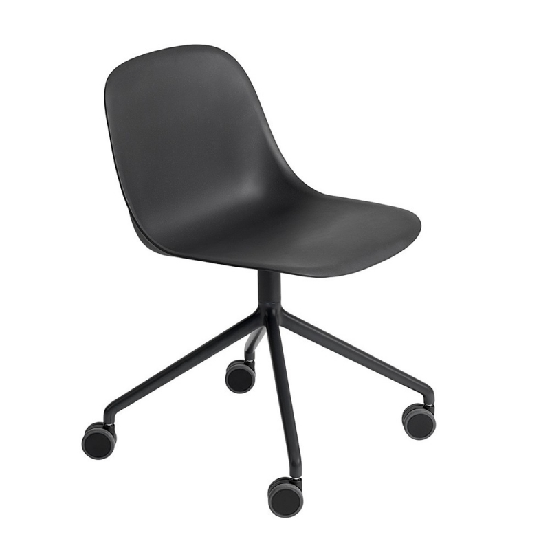 muuto office chairs fiber chair swivel wheel design republic. Black Bedroom Furniture Sets. Home Design Ideas