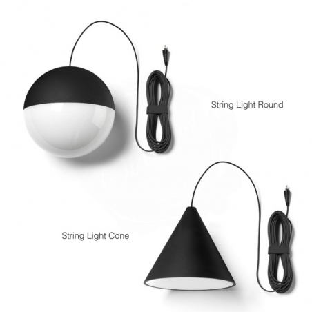 String Light Cono 12mt