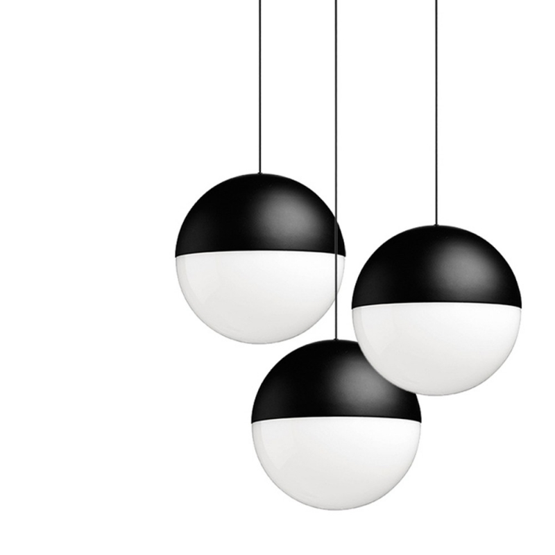 FLOS Lampade da soffitto String Light Sfera 12mt - Design Republic