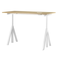 Height adjustable Work desk 120