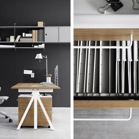 Height adjustable Work desk 120