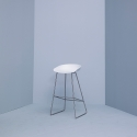 About A Stool 38 - AAS38 - H 74 cm - stainless steel legs