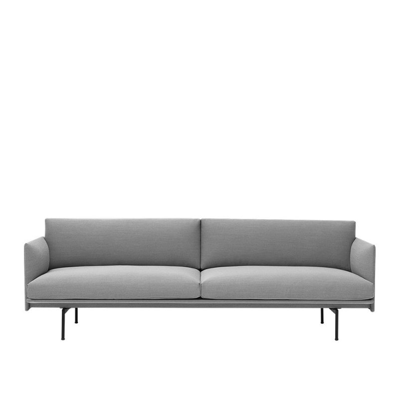 Muuto Sofas Outline 3 Seater Upholstery Design Republic