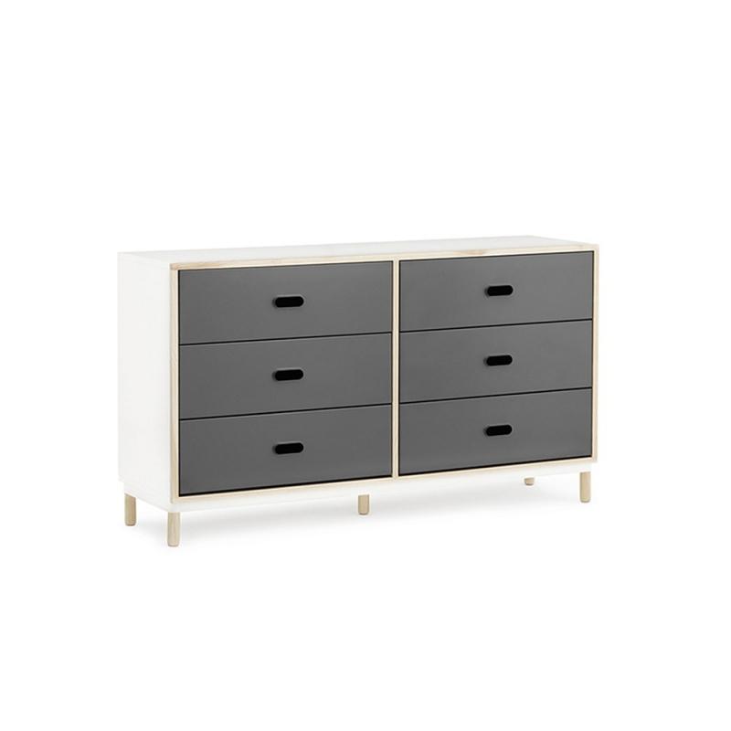 Kabino Dresser w. 6 Drawers