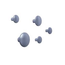 The dots metal - set of 5