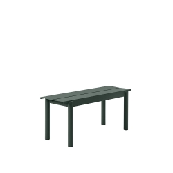 Linear Steel Bench 110 cm