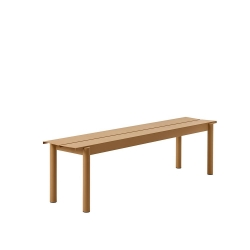 Linear Steel Bench 170 cm