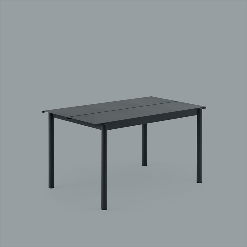 Linear Steel Table 140x75