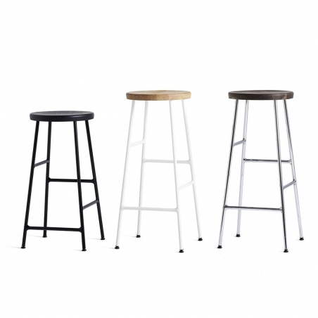 Cornet Bar Stool - Chromed