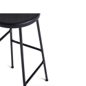 Cornet Bar Stool - Black