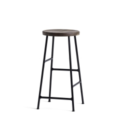 Cornet Bar Stool - Black