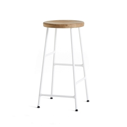 Cornet Bar Stool - White