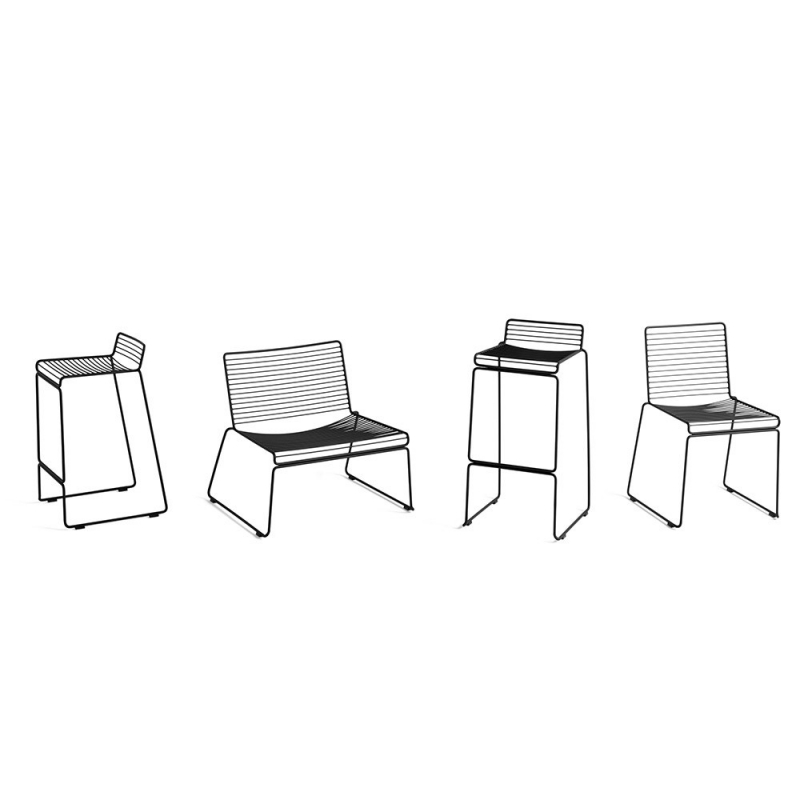 Hee Bar Stool H 65 cm - set 2 pz