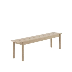 Linear wood Bench 170