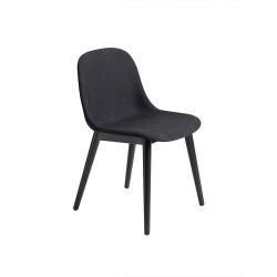 Fiber Side Chair Wood Base/Textile