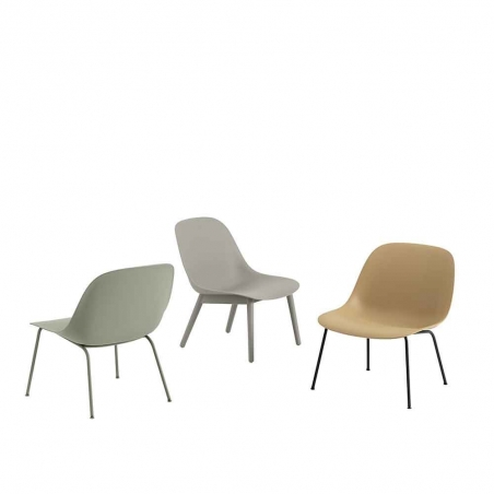 Fiber Lounge Chair Tube Base