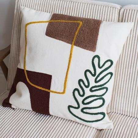 Mirage Cushion - Leaf
