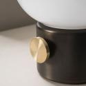 Jwda Table Lamp,Metallic
