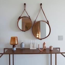 Adnet Wall Mirror, Circular, Ø45