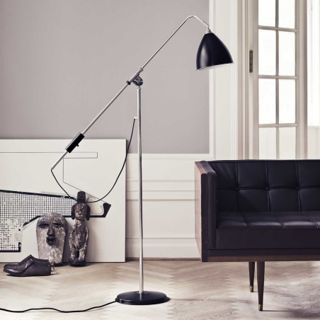 BL4 Floor Lamp - Ø21, Chrome Base