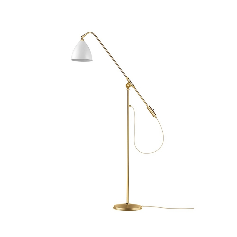 BL4 Floor Lamp - Ø21, Brass Base
