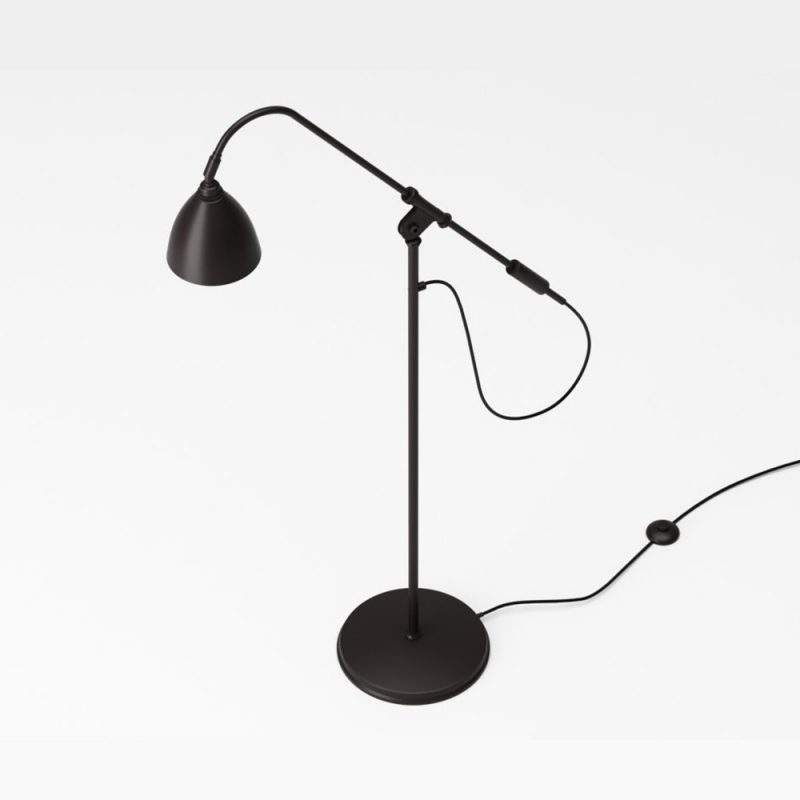 BL4 Floor Lamp - Ø21, Black Brass