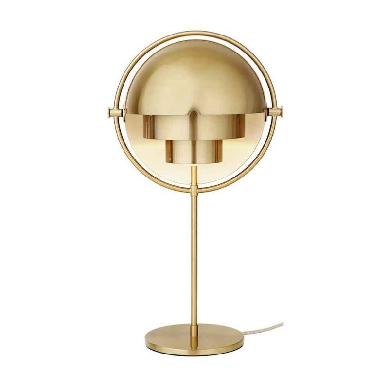 Multi-Lite Table Lamp, Brass Base