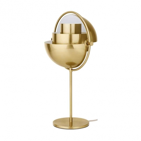 Multi-Lite Table Lamp, Brass Base