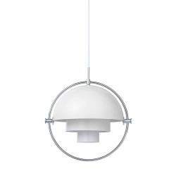 Multi-Lite Pendant Lamp, Chrome Base