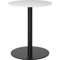 Gubi 1.0 Dining Table, Round, Black Base