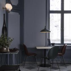Gubi 1.0 Dining Table, Square, Black Base