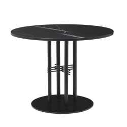 TS Column Dining Table- Round, Ø80, Black Base