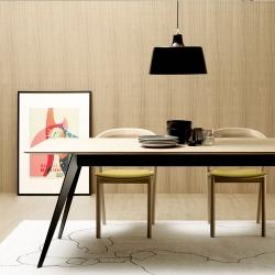Aise Table, Metal leg, 90x190