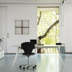 Aise Table, Metal leg, 90x170
