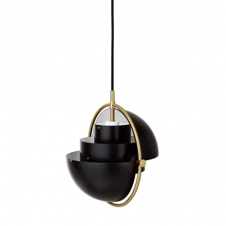 Multi-Lite Pendant Lamp, Brass Base