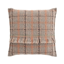 Garden Layers / Tartan Cushion