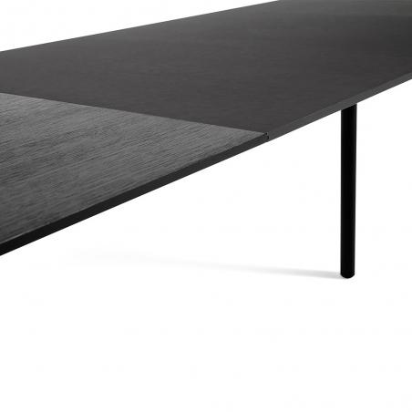 CPH 30 Extendable Table Black Oak