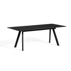 CPH 30 Extendable Table Black Oak