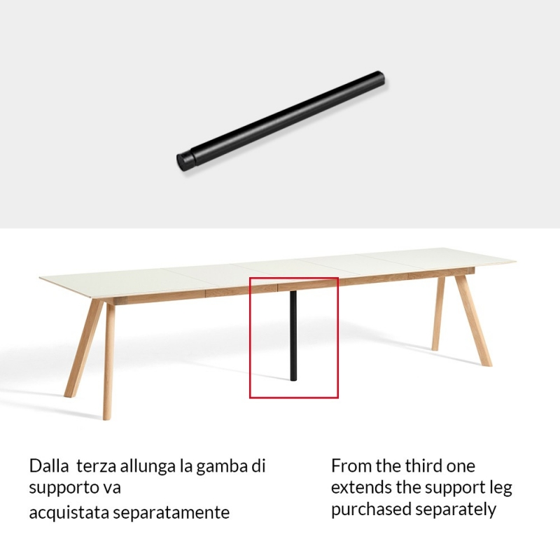 CPH 30 Extendable Table_ Support leg