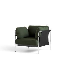 Can 1 Seater_ Chromed Steel Leg